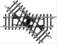 Märklin 2258 H0 Kreuzung 90 mm