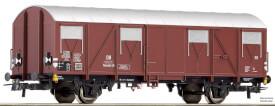 Gedeckter Güterwagen Glmhs + Schlußlicht #1