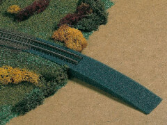 H0 Bahndammauffahrt - Schaumstof