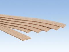 Kork-Gleisbettung, 3 mm hoch