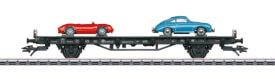 Märklin 45052 H0 Autotransport 70 J.Porsche-Sportw.2
