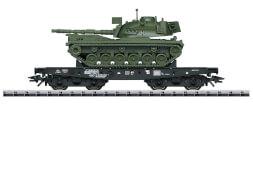 Trix T24214 H0 Schwerlastwagen Rlmmp mit M48 DB