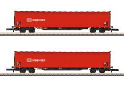Märklin  082426 Z Schiebeplanenwagen-Set DB AG