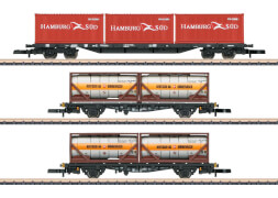 Märklin 82663 Z Containertragwagen-Set