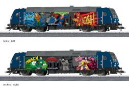 Märklin 36656 H0 Diesellokomotive Superhelden