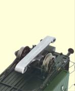 H0 Schleifer für 4 Achser Abteil