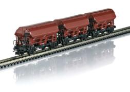 TRIX T15804 N-Schnellzugwagen 3.Kl.DRB