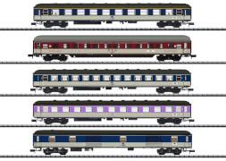 Trix T15473 N Schnellzugwagen-Set ''D 730'' DB