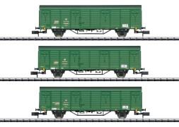 Trix T15312 N  Güterwagen -Set Postzug