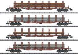 Märklin T15484 N Güterwagen-Set Stahltransport