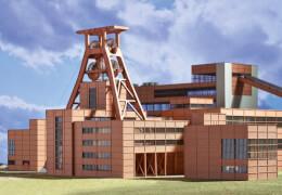 Trix T66310 Bausatz Zeche Zollverein 1