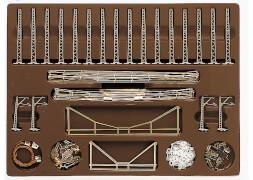 Märklin 8199 Oberleitungspack T1+T2+T3