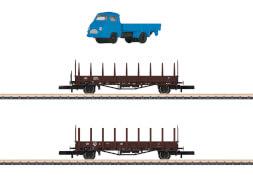 Märklin 82132 Z Wagenset Fahrzeugtransport DB
