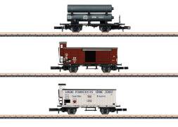 Märklin 86604 Z Wagen-Set Gütertransport KPEV