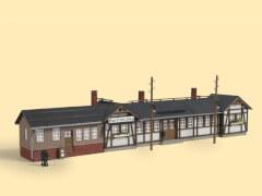 H0 Bahnhof Barthmühle