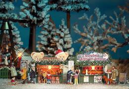 H0 Zwei Weihnachtsbuden