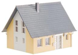 H0 Einfamilienhaus, gelb
