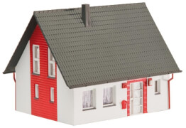 H0 Einfamilienhaus, rot