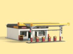 H0 Tankstelle