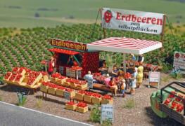 H0 Erdbeer-Verkauf