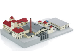 Märklin 72702 Bausatz Brauerei Weihenstephan 2