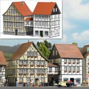 H0 Häuser mit Übergang