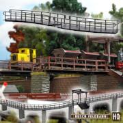 H0-2 Brücken gebogen
