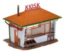 H0 Kiosk und Pilzkiosk