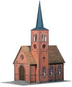 H0 Kleinstadt-Kirche