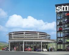 H0 Smart Verkaufsgebäude