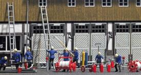 H0 Feuerwehr-Zubehör-Set
