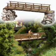 H0 Holzbrücke