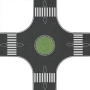 H0 Kreisverkehr