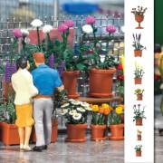 H0 Blumentopf - Set