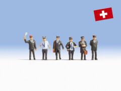 H0-Schweizer Bahnpersonal