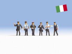 H0-Bahnbeamte Italien