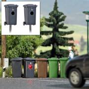 H0 Mülltonnenblitzer