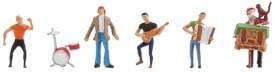 H0 Kleine Band/Straßenmusiker