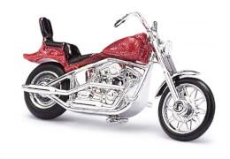 US Motorrad rot-metallic