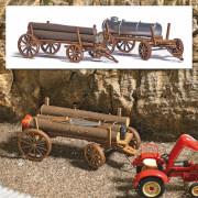 H0 2 Holzwagen