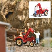 H0 Traktorreparatur
