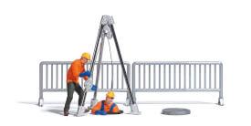 A-Set: Kanalarbeiter H0