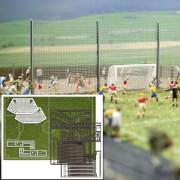 H0 Fußballplatz