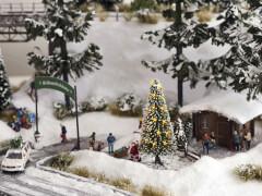 H0-Weiße Weihnacht