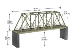 H0 Kastenbrücke 360 mm