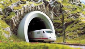 N ICE-Tunnelport 2 gleisig