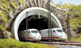 H0 ICE-Tunnelportal