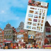 N Werbeplakate-Set