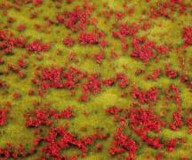 H0, TT, N PREMIUM Landschafts-Segment, Blumenwiese, rot