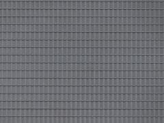 2 Dachpfannenplatten dunkelgr